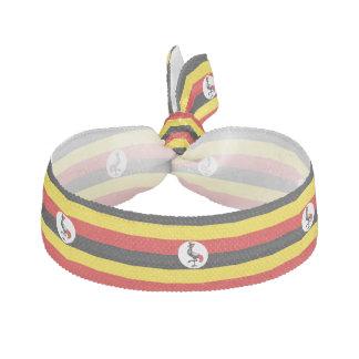Élastique Pour Cheveux Drapeau de l'Ouganda