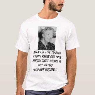 Eleanor_Roosevelt, femmes sont comme des sacs à T-shirt