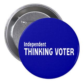 Électeur de pensée indépendant badge