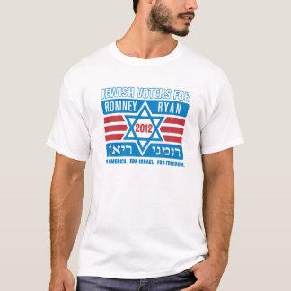 Électeurs juifs pour Romney-Ryan T-shirt