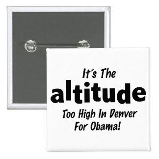 Élection 2012 anti Obama c'est l'altitude Badge