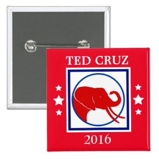 Élection 2016 d'éléphant de CRUZ Taureau Badge