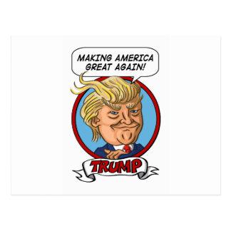 Élection 2016 présidentielle carte postale