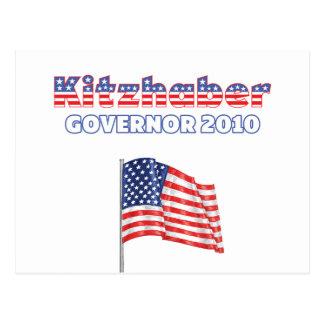 Élections patriotiques du drapeau américain 2010 carte postale