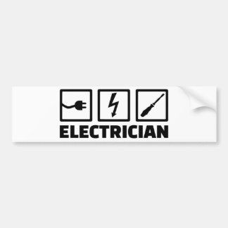 Électricien Autocollant Pour Voiture