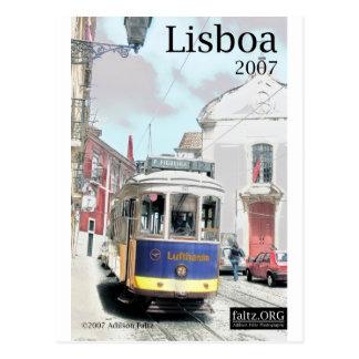 Eléctrico, Lisbonne Carte Postale