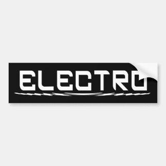 Électro adhésif pour pare-chocs autocollant pour voiture