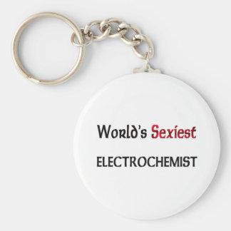 Electrochemist le plus sexy du monde porte-clés