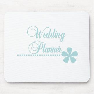 Élégance de Teal de wedding planner Tapis De Souris