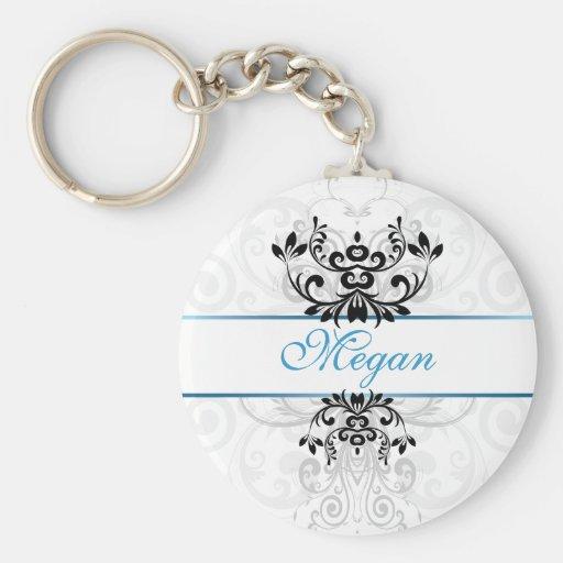 Élégance légère customisée porte-clés