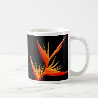 Élégant, beau, oiseau de fleur de paradis mug
