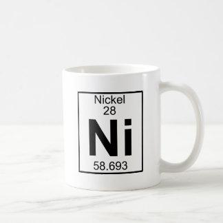 Élément 028 - Ni - Nickel (plein) Mug