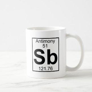 Élément 051 - Sb - antimoine (plein) Mug