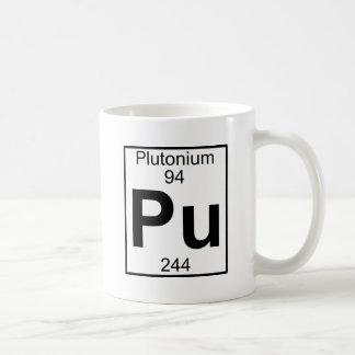 Élément 094 - Unité centrale - Plutonium (plein) Mug