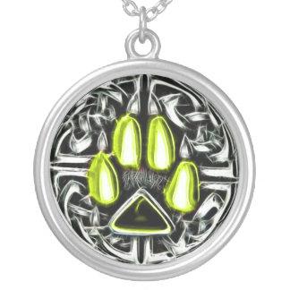 Élément d'amulette de protection de loup-garou collier