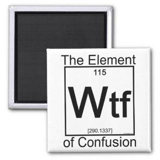Élément WTF Magnet Carré