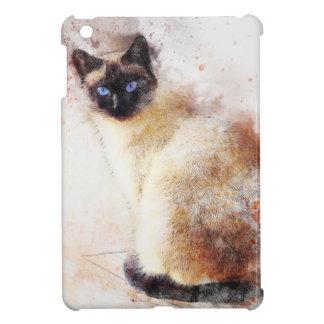 Éléments d'abrégé sur chat siamois étui iPad mini