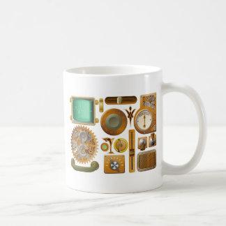 Éléments victoriens de conception de Steampunk Mugs À Café