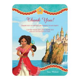 Elena de Merci d'anniversaire d'Avalor   Carton D'invitation 10,79 Cm X 13,97 Cm
