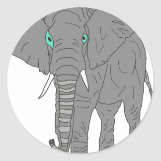 ELEPHANT1.PNG AUTOCOLLANT ROND