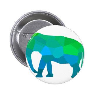 Éléphant 1 de mosaïque badge