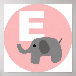 éléphant affiche