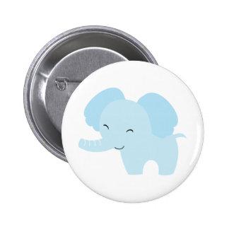 Éléphant bleu badge