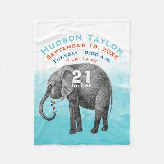 Éléphant bleu de stat de disque de naissance de couverture polaire
