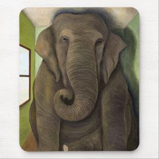 Éléphant dans la chambre tapis de souris