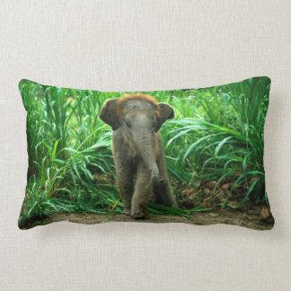Éléphant de bébé coussin