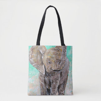 Éléphant de bébé sac