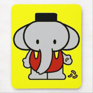 Éléphant de bébé tapis de souris