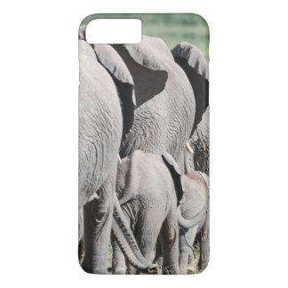 Éléphant de Bush d'Africain (Loxodonta Africana) 4 Coque iPhone 7 Plus