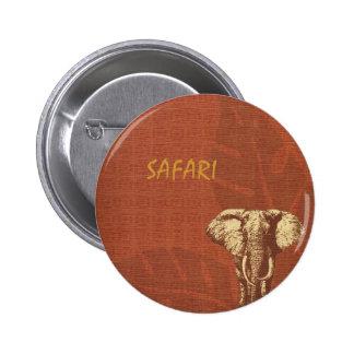 Éléphant de safari pin's