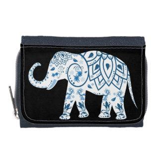 Éléphant de tribal de bourse de pièce de monnaie