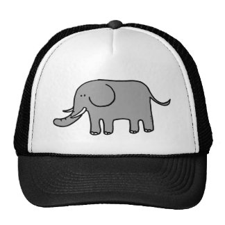 Éléphant drôle casquettes