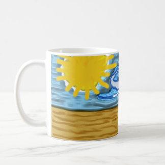 Éléphant ensoleillé mug