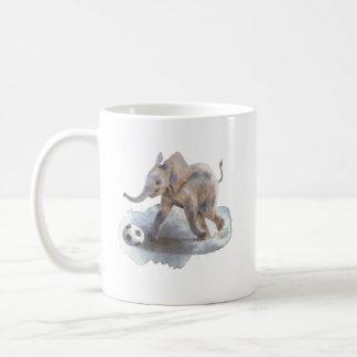 Éléphant espiègle tasse de classique de 11 onces