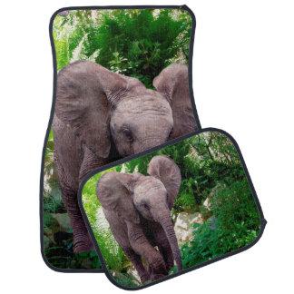 Éléphant et jungle tapis de voiture
