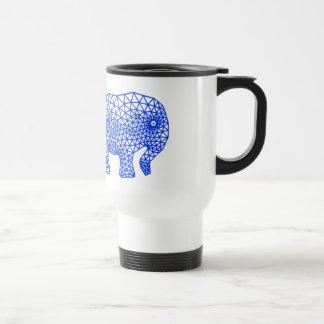 Éléphant fini mug de voyage