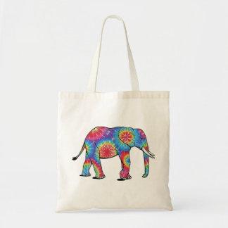 Éléphant Fourre-tout de colorant de cravate Sacs De Toile
