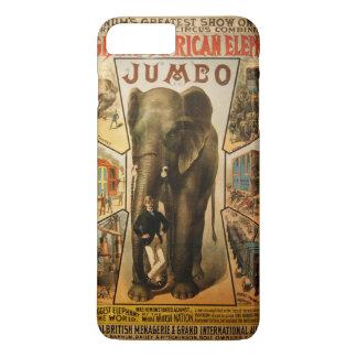 Éléphant, l'éléphant africain géant coque iPhone 7 plus