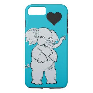 Éléphant mignon coque iPhone 7 plus