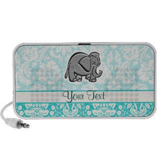 Éléphant mignon ; sarcelle d'hiver haut-parleurs iPhone