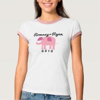 Éléphant républicain adorable, Romney/Ryan T-shirt