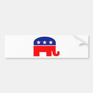 éléphant républicain autocollant pour voiture