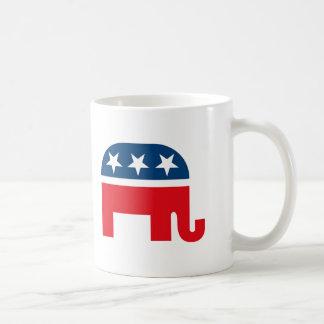 Éléphant républicain mug