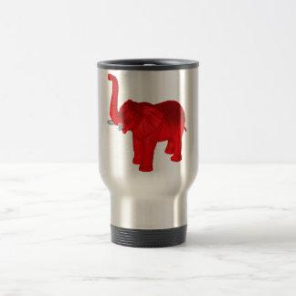 Éléphant rouge mug de voyage