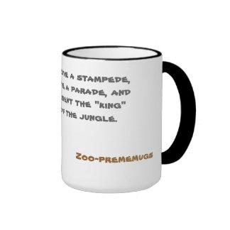 éléphant mug à café