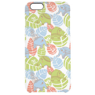 Éléphants colorés de jungle coque iPhone 6 plus